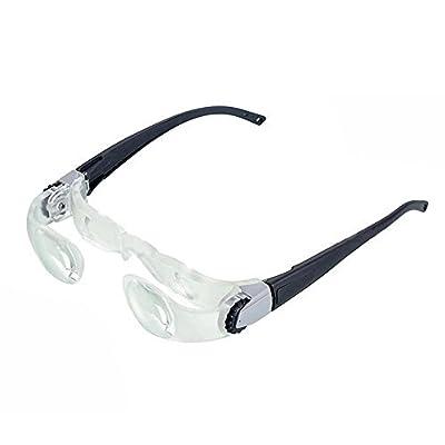 Binocular 2.1X Magnifying Glasses Old Man Reading Fishing Watching TV Magnifier Telescope Eyeglass