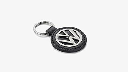 Volkswagen Original Cuero/Metal Llavero