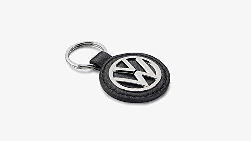 000087010BEZMD Original VW Key Fob Black Silver