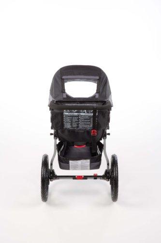 BOB Revolution SE Single Jogging Stroller, Black