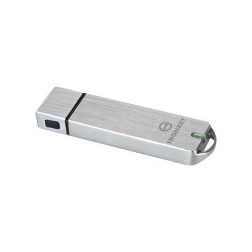 Kingston Basic S1000 Encrypted Flash Drive IKS1000B/64GB by Kingston
