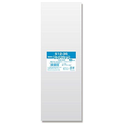 業務用 ヘイコー OPP袋(テープ無し) ピュアパック S12-35 1ケース 4000枚 B07D4H4LS9