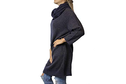 Kleid Gr Dress PulloverKleid SOFMOH HUMANOID Shadow Blau Pulli Damen M H259a 6Ux18