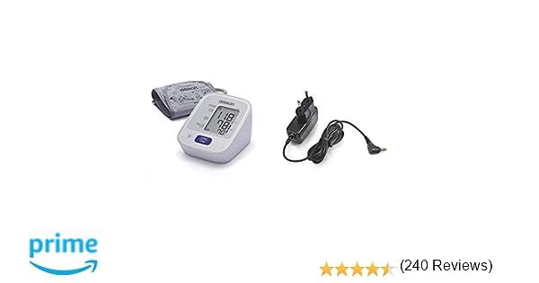 OMRON M2 - Tensiómetro de brazo, detección del pulso arrítmico, tecnología Intellisense para dar lecturas de presión arterial rápidas, cómodas y precisas + ...