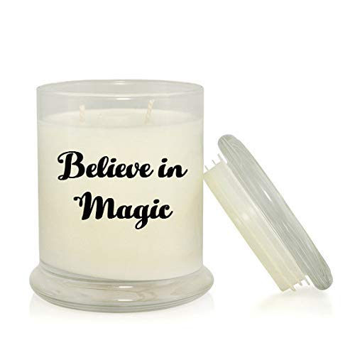 Amazon Believe In Magic 85 Oz Soy Candle Harry Potter