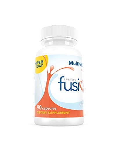 Bariatric Fusion Multivitamin ONE per Day Capsule with 45mg of Iron for Gastric Bypass and Sleeve Gastrectomy, 90 Count