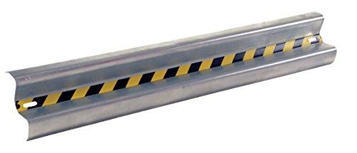 (Vestil GR-6 Galvanized Straight Guard Rail, 72
