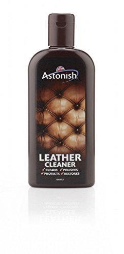 6 X Astonish Leather Cleaner - Cleans Polishes Protects Restores - 235ML