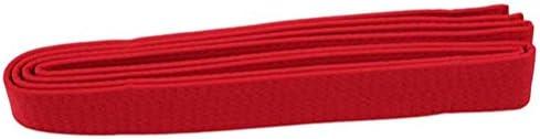 ユニセックステコンドーユニフォームベルトプロフェッショナルTKDベルト空手柔道ダブルラップ武道ストライプベルト