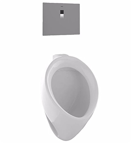 TOTO UT104EV#01 Commercial Washout Urinal With Back Spud, Cotton White by TOTO