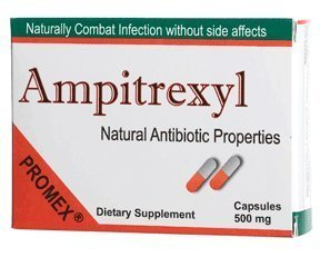 Ampitrexyl 500mg Capsules, Size: 30 by Pro-Mex LLC (Best Cure For Chlamydia)