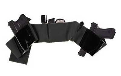 (Galco UnderWraps Belly Band - Black/Large (42