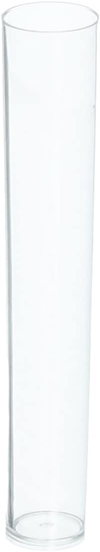 Amscan Party Supplies 1.5 oz Test Tube Shot Glasses Clear (24 Pack), Multicolor