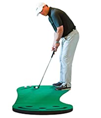 IF YOU'RE SERIOUS ABOUT IMPROVING YOUR SPEED AND DISTANCE CONTROL... THIS MAT HAS YOUR NAME ON IT! This mat will keep your putting stroke sharp until the next time you hit the golf course, regardless of your level of experience.This is by far...