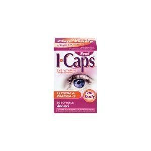 ICAPS SFGL W/LUTEIN & OMEGA 3 30