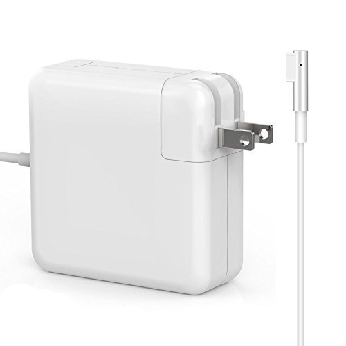Macbook Pro Charger, Replacement 60W Magsafe (L) Shape Connector Ac Power cable Adapter Mac laptop power supply for Macbook and 13-inch Macbook Pro (Before Mid 2012 (Power Adapter Cable Model)