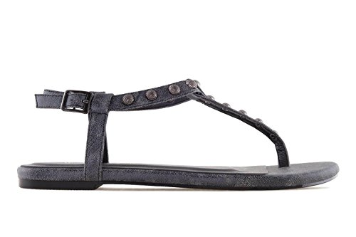 Sandals Grey Machado Andres Women's Grey Thong UFvUn6xqO