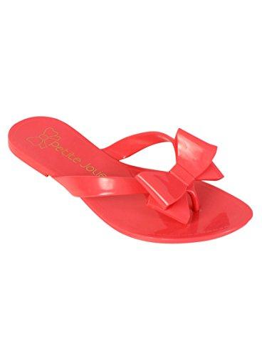 Rosa Jolie Flip Flops Petite Schleife nY51qwZxzS