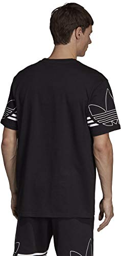 Noir shirt Homme T Tee Adidas Outline T FYBwqYOU