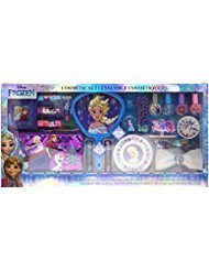 (Townley Girl Disney's Frozen Cosmetic Set for Girls, Nail Polish, Lip Gloss, Hair Accessories, Mirror and)