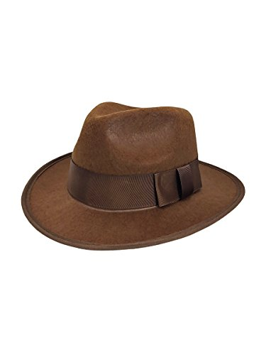 Nicky Bigs Novelties Mens Adventurer Explorer Fedora Hat One Size Adult