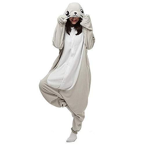 SHDiBa Unisex-adult Plush Animal Onesies Pajamas Kigurumi Sleepwear