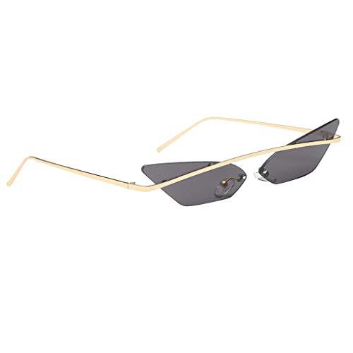 Transparente Soleil Cadre Générique Femmes Chat Sunglasses Magideal Vintage Homme Gris Oeil Dames Couleurs 7 Femme Petit De Mode Lunettes pYAA0q7nrx