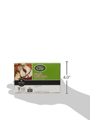 Large Product Image of Green Mountain Coffee Roasters Caramel Vanilla Cream Coffee Keurig Single-Serve K-Cup Pods, 72 Count (6 boxes of 12 Pods)