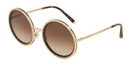 Dolce & Gabbana Women's 0DG2211 Gold/Havana/Brown Gradient One Size