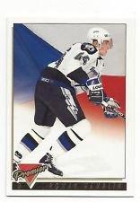 (2 Roman Hamrlik Hockey Cards 1993/1994 Topps Premier #323 & #281 Tampa Bay Lightning)