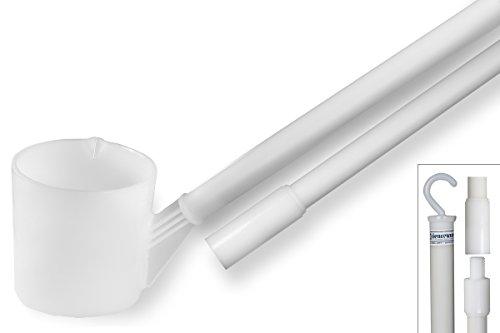 Bel-Art Long-Handled Dipper; 32oz, 12ft 2 Piece Handle, Plastic (F36782-0032)