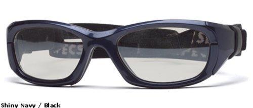 Rec Specs Protective Sports Eyewear- Maxx 31 - Shiny Navy Blue/ Clear