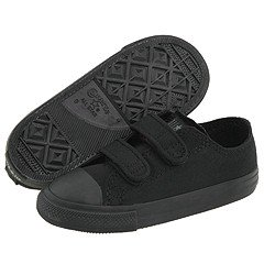 Converse CT 2 Strap Ox in 7v606 Black Mono Toddler Velcro (3)