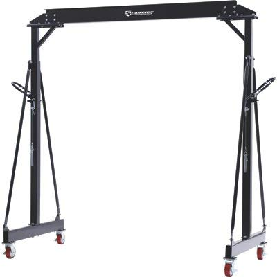 Strongway Adjustable Gantry Crane - 4000-Lb. Capacity by Strongway