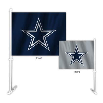 Fremont Die NFL Dallas Cowboys Home & Away Car Flag