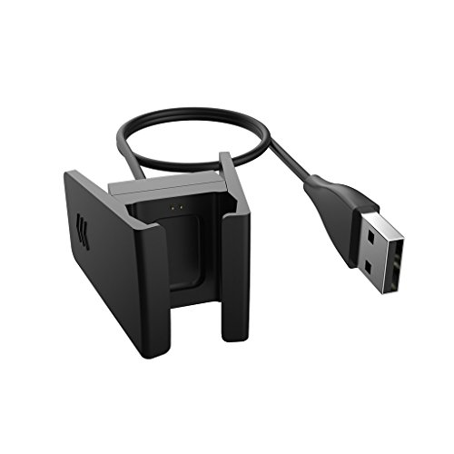 qibox fitbit charge 2 charger replacement charging cable. Black Bedroom Furniture Sets. Home Design Ideas
