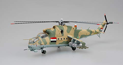 Easy Model Iraq air Force Mil Mi-24 hind Helicopter 1/72 Non diecast Plane ()