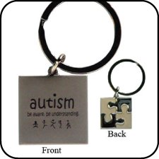 IMC Autism Awareness Key Chain - Awareness Key Chain