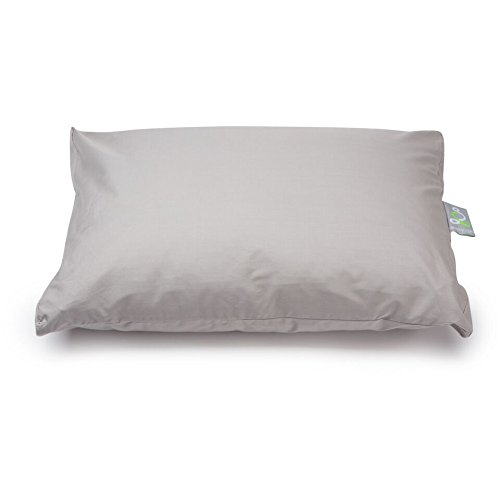 Sleep Yoga Cool and Fresh 2-Pack Standard/Queen Size Pillow Cover Protector-100% Cotton Hypoallergenic, Machine Washable-Lavender Purple, Standard/Queen Size, Gray