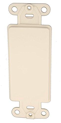 Leviton 80414-T 20 Pack QuickPort Decora Multimedia Insert, Light Almond ()
