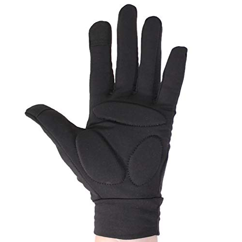 CRS Cross Figure Skating Gloves - Warm Padded Protection for Practice, Competition, or Testing/Examination (Black, Youth Small)
