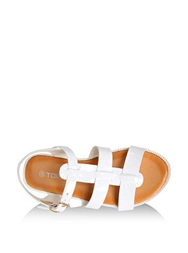 Sandales pour Garçon et Fille URBAN B718560-B4600 WHITE