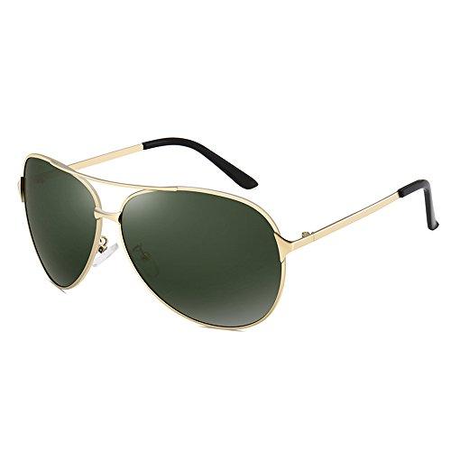 Gafas sol A Gafas Color protección conducción Gafas para Aviador hombres de SSSX de sol Gafas de A de polarizadas de sol con sol UV aqdvB1wv6x