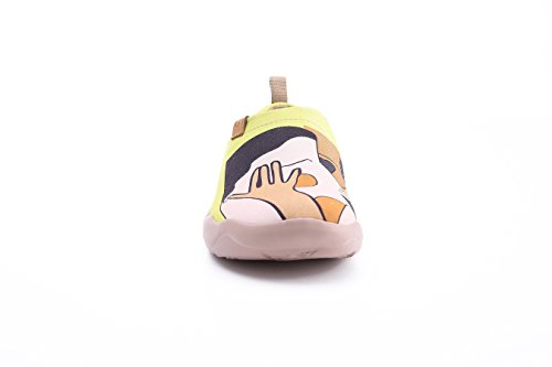 Uin Ladies Kiss In Canvas Fannullone Giallo