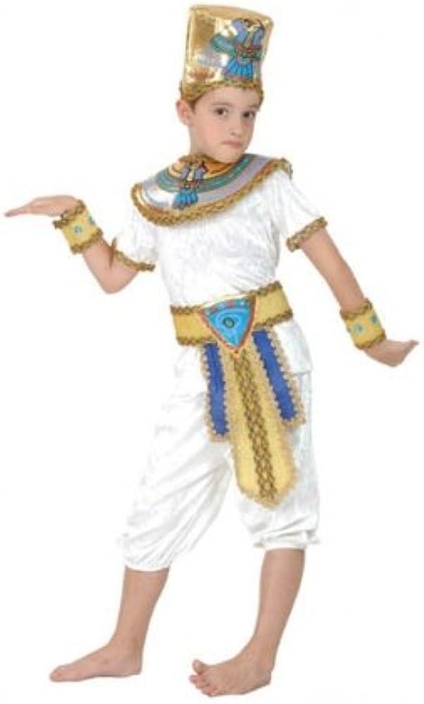 Egyptian - Disfraz de príncipe egipcio infantil, talla 9-12 años ...
