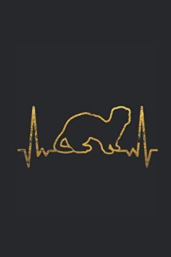 - Ferret Heartbeat: Ferrets Notebook, Graph Paper (6