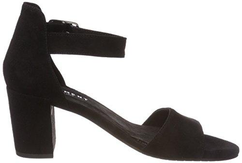 Cinturino Caviglia Donna Sylvia Nero 017 Alla Sandali black Con Suede Pavement qaxXnwt6a