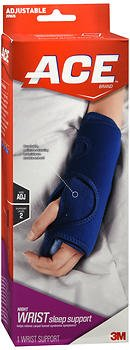 Ace Night Wrist Sleep Support One Size - 1 ea., Pack of 5