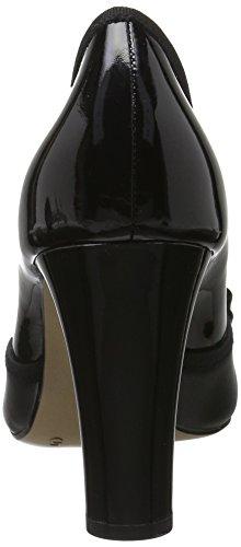 Pumper F Caprice 22404 Tå sort Lukket Sort Pa comb IzqPOwRxq