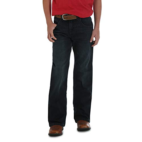 Wrangler Boys' Big Relaxed Fit Boot Cut Jeans, Oakdale for sale  Delivered anywhere in USA